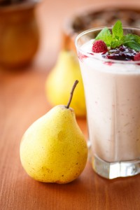 Creamy Vanilla Pear Smoothie