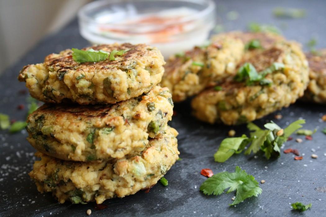 Coriander Cumin Tofu Fritters | Inspire Health Magazine