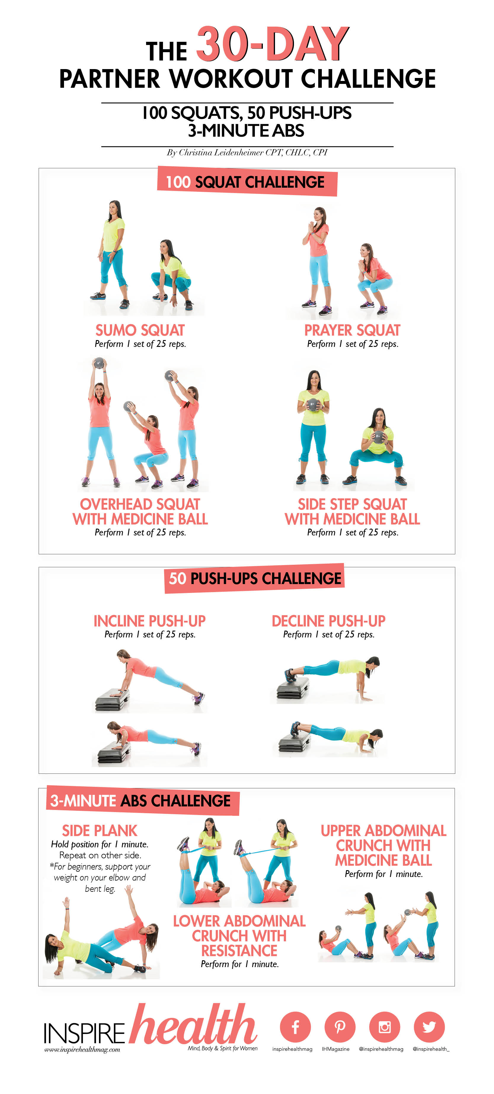 The 30-Day Partner Workout Challenge