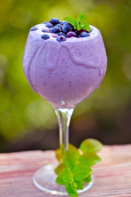 Olenko's Purple Lavender- Blueberry Smoothie