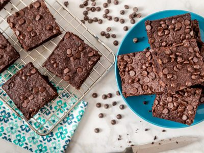 KETO Chocolate Chip Brownies