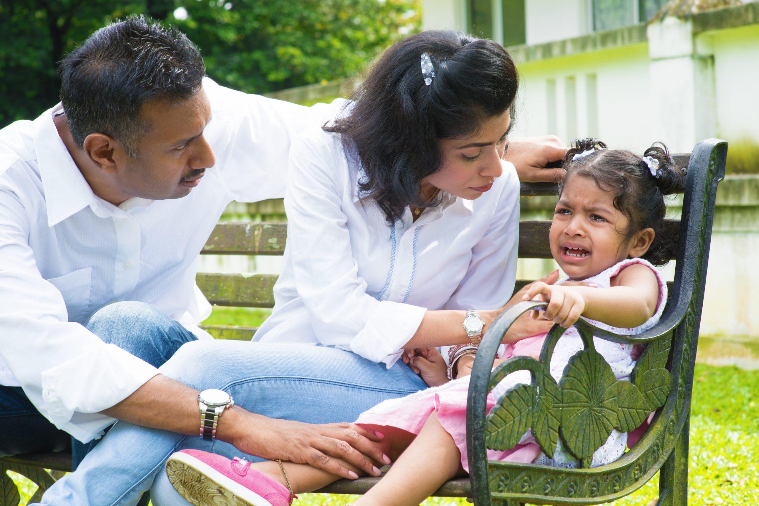 Helping Your Child Through a Temper Tantrum